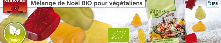Bonbons publicitaires pour Végétaliens