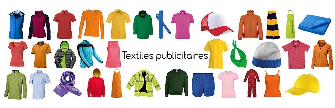 Textiles publicitaires