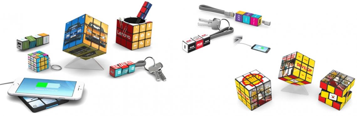 Découvrez notre collection de Rubik's Cube ! Rubik's Cube Publicitaire